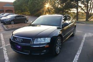 2005 Audi A8 D3 - Black