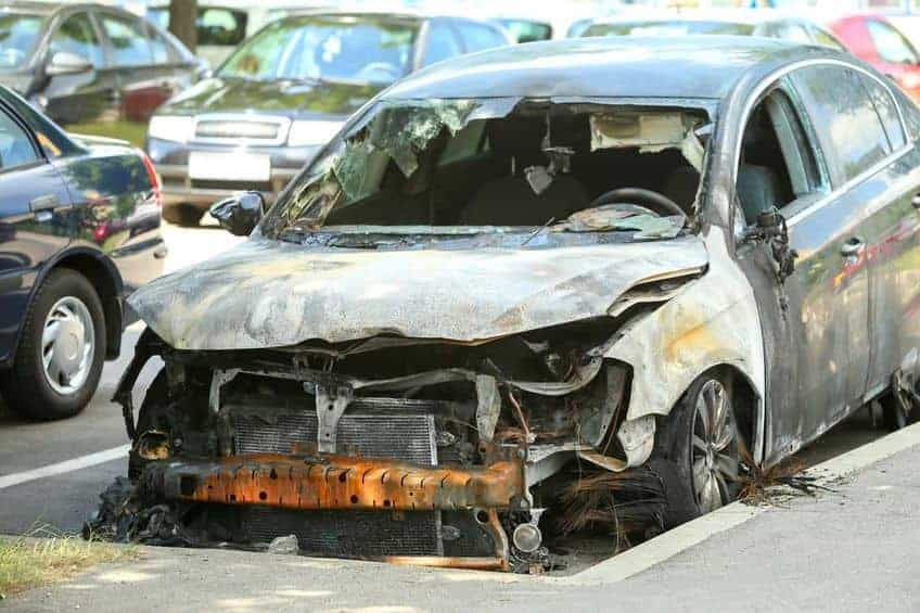 Burnt-Car