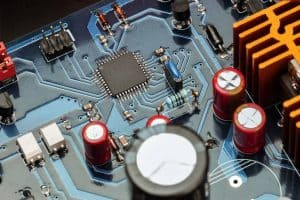 MotorHills vehicle circuit board micro-processor