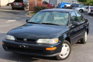 Toyota Corolla 1996 5-speed