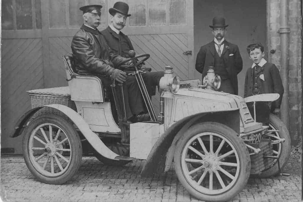 late 19th century car