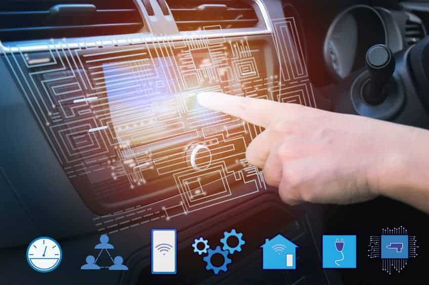 Car-Touchscreen