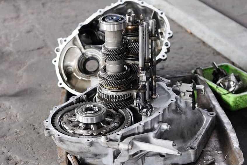 Inside of a transmission
