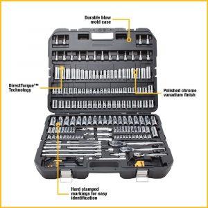 DEWALT DWMT75049 Mechanics Tool Set 192-Piece