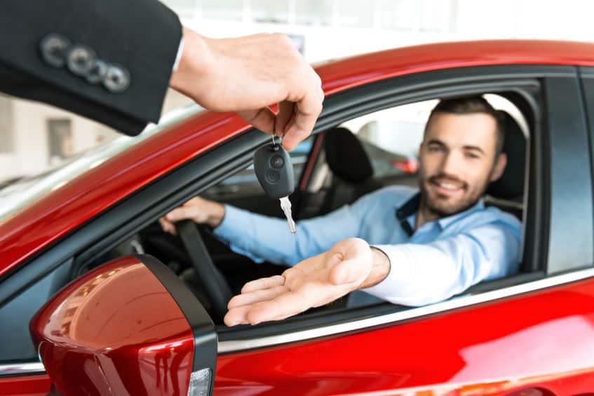 Buying a car at the dealership