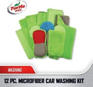 Turtle Wax Platinum Microfiber Wash & Wax Kit