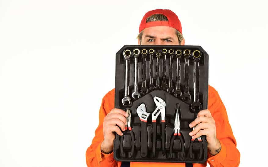 Professional equipment wrenching