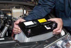 Car Battery Replacing