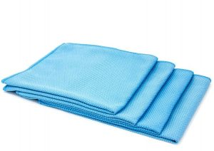 Diamond-Glass-Microfiber-Window-and-Chrome-Towel-16in-x16in-4-Pack-Blue