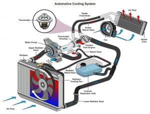 Engine Cooling System Illustration
