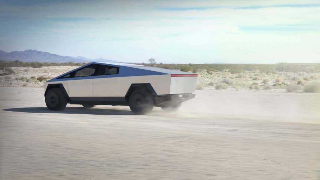 Tesla Cybertruck Off-road