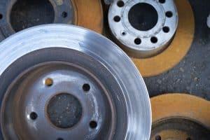 Brake rotors worn out