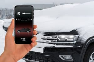 Car auto start app