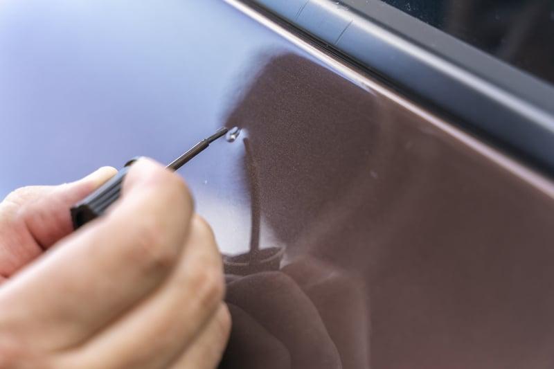 Car scratch touch-up