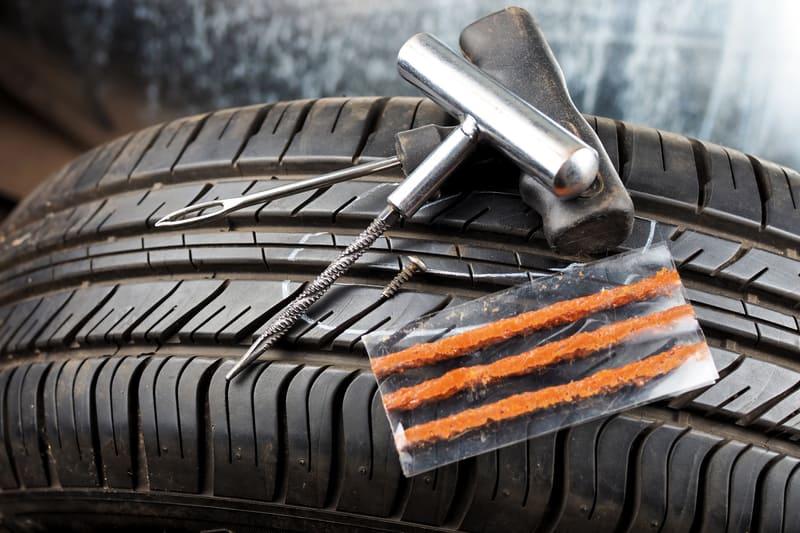 Car tire patch 1