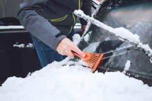 Ice scraper - window cleaning 3