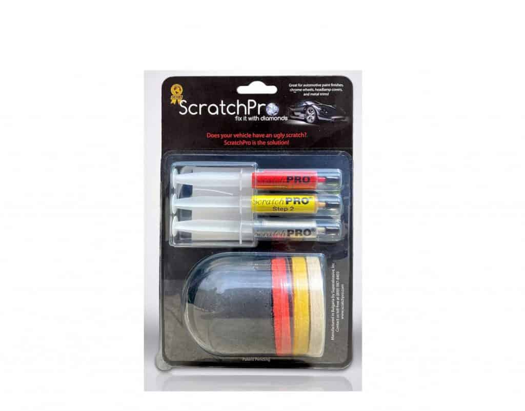 Scratch Pro Kit For Scratch Repair Of Automotive Paint Finishes And Headlight Restoration