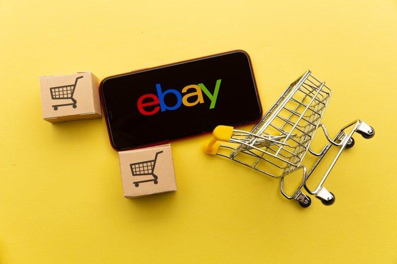 eBay shopping cart