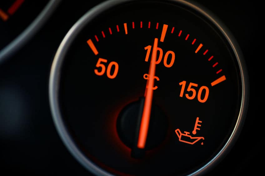 Car-temperature-gauge