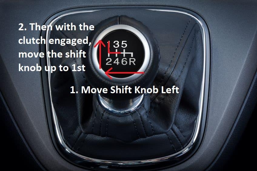 Manual-shift-knob-1st-gear.