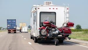 RV-towing-a-motorcycle