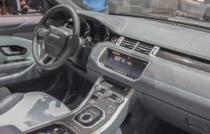 Range Rover interior 2018