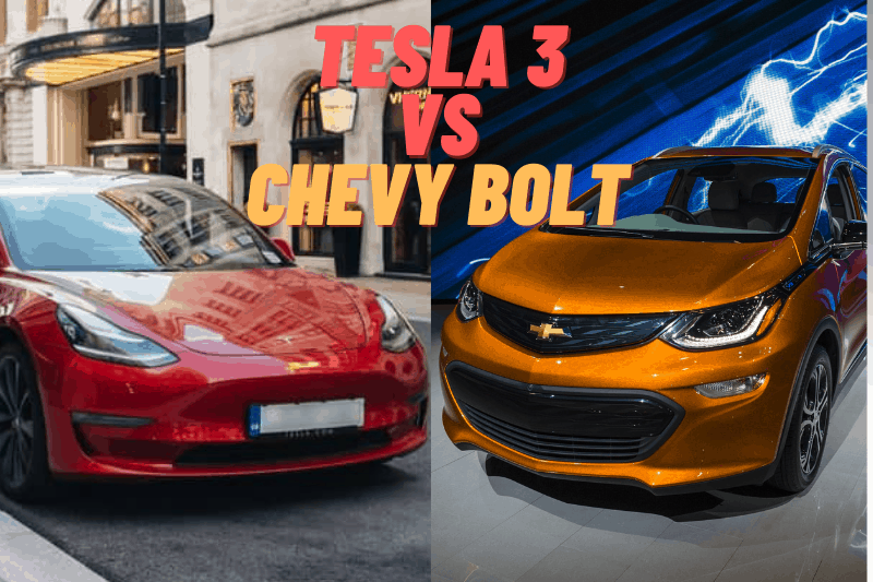 Tesla 3 vs Chevy Bolt 2