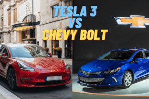 Tesla 3 vs Chevy Bolt