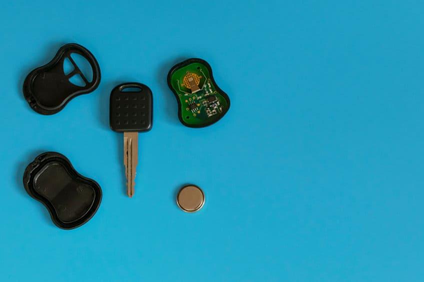 Car-key-battery-fob