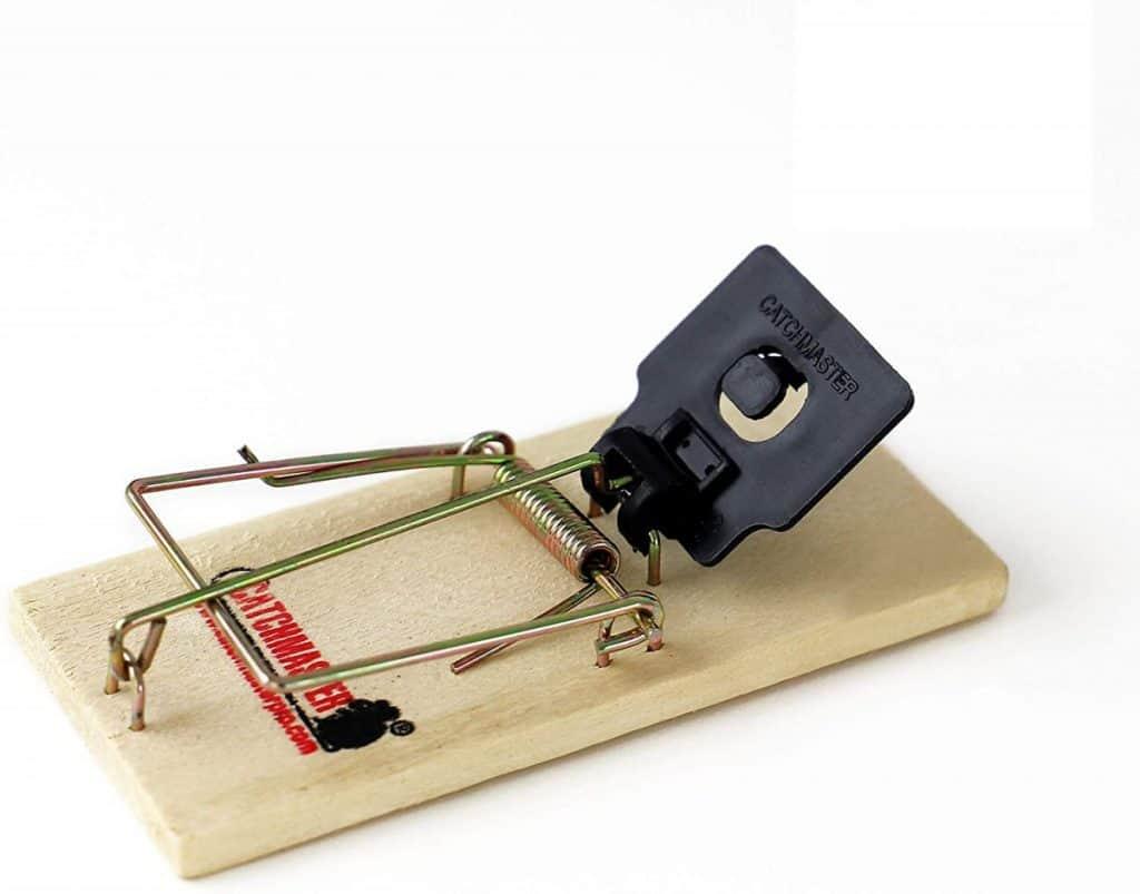 Catchmaster Instant Kill Mouse Snap Traps - Bulk Case - 36 Mouse Traps