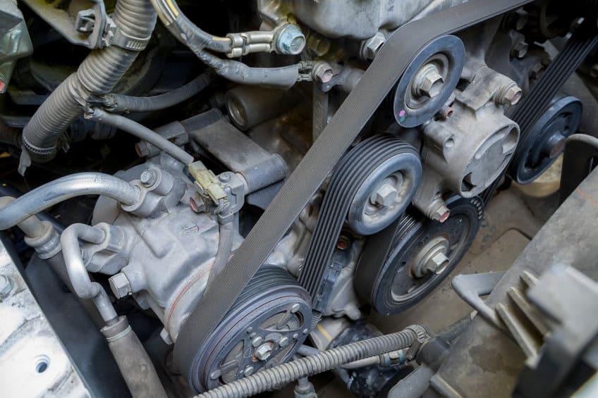 AC compressor belt