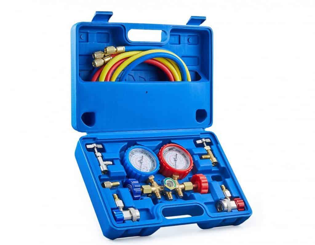 AC manifold gauge set