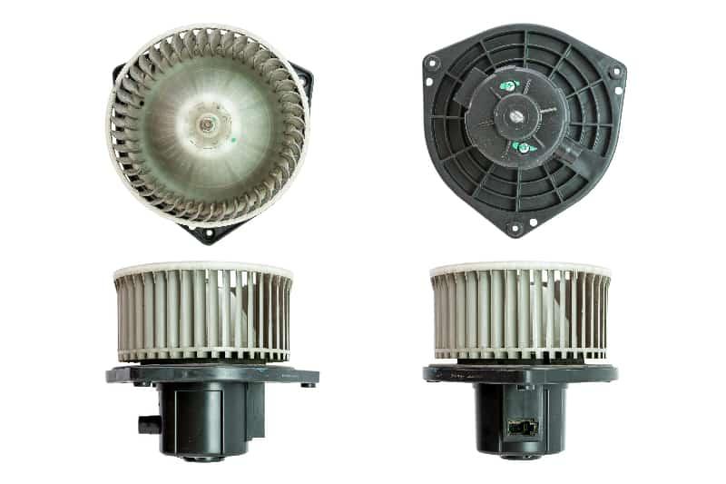 Car air blower motor fan