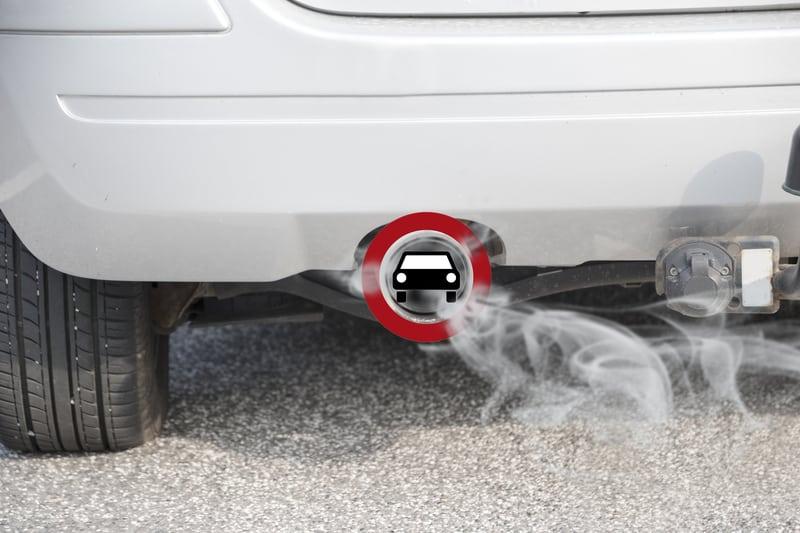 Car idling state law ban