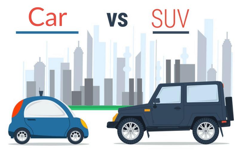Car vs SUV - 2
