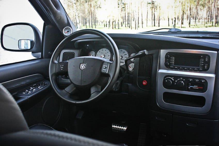 Dodge RAM SRT-10 Interior