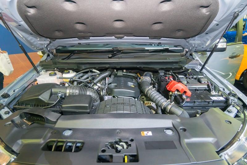 Ford Ranger Raptor 2017 Engine