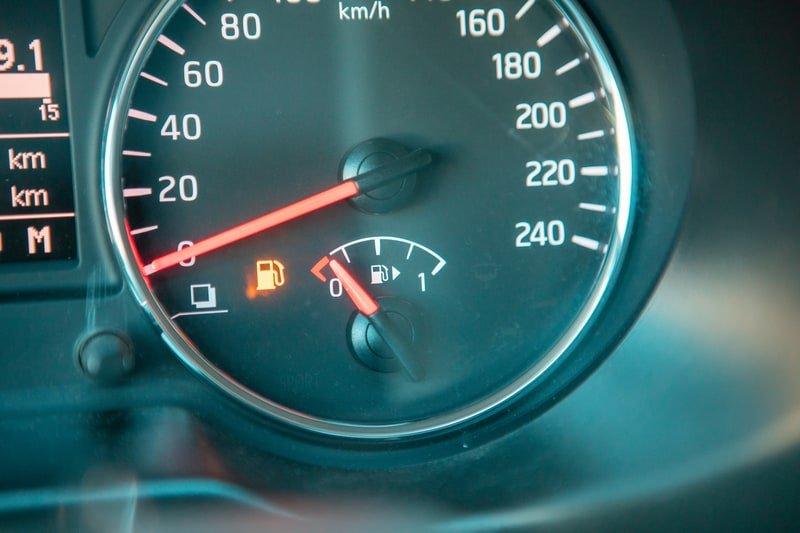 Low fuel - gauge