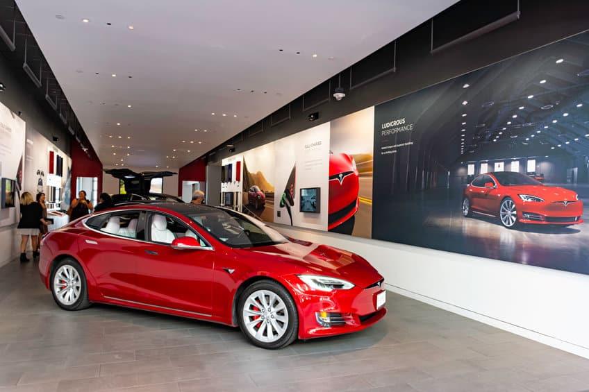 Tesla Motors Showroom