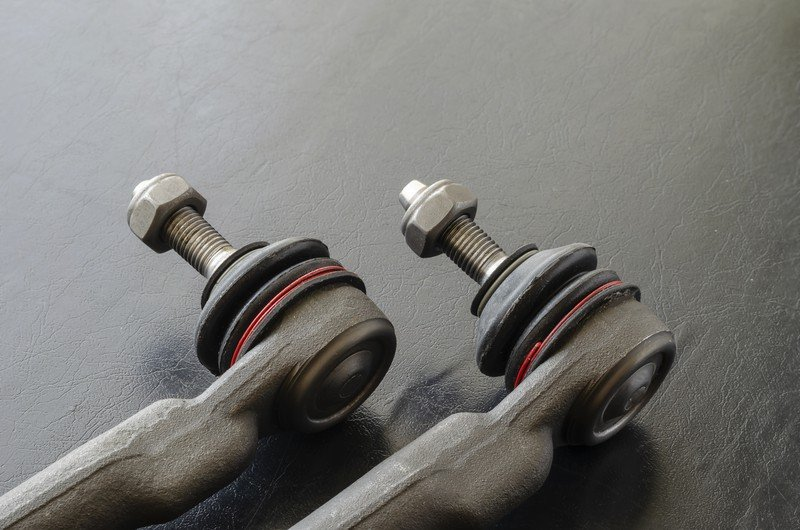 Tie rods - close up of the ends