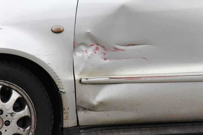 Car scratched - worn out