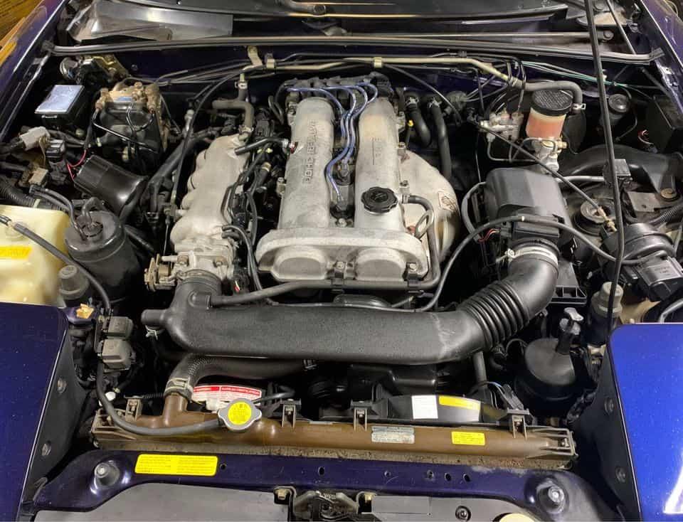 1996 Mazda Miata NA Engine Bay