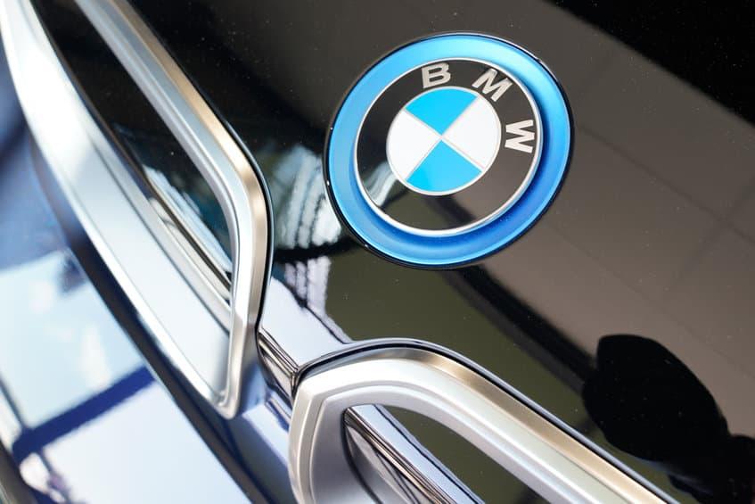 BMW i3 bonnet hood logo