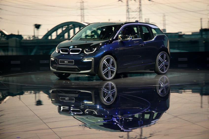 2018 BMW i3 electric car
