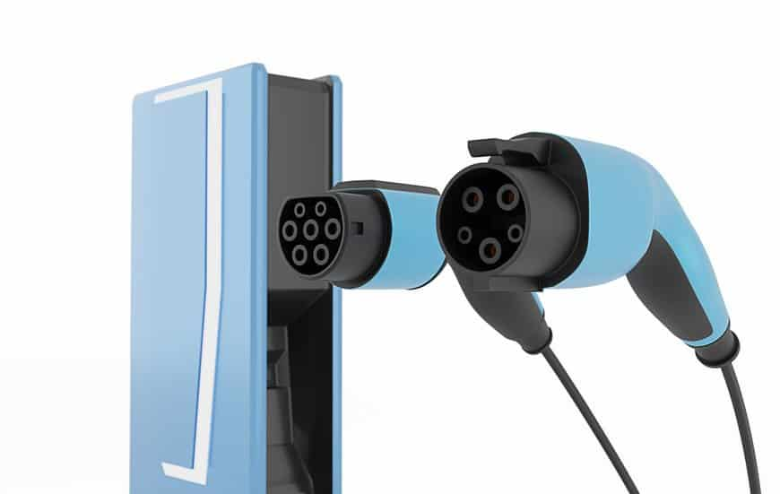 Electric car charger SAE-J-1772 Type 1 vs Type 2