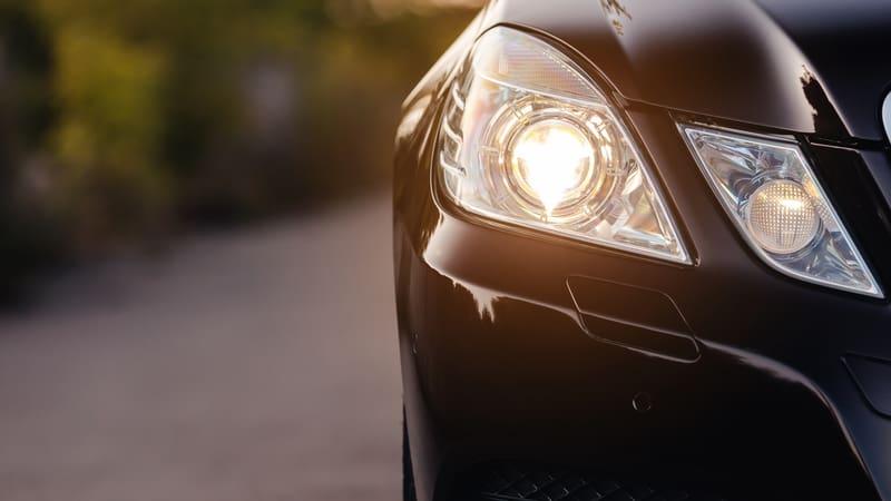 Headlights-closeup