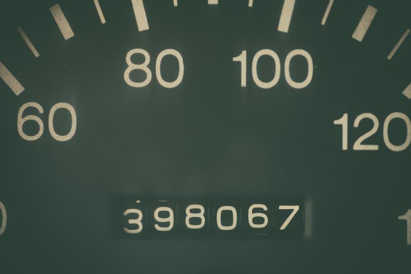 High mileage odometer 2
