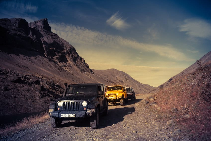 Jeep Wrangler 2016 Kola Peninsula Off-road