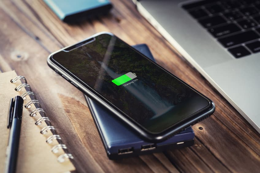 Smartphone wireless charging portable