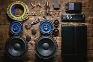 Car audio stereo equipment full set
